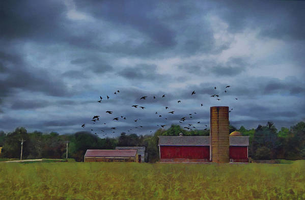 Landscape Poster featuring the photograph Song Of The Heartland by Cedric Hampton