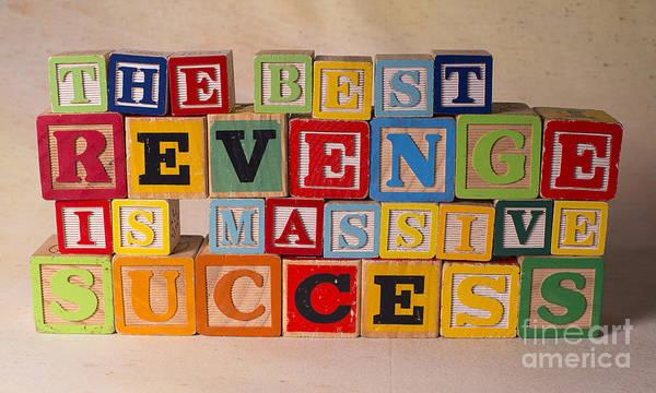 The Best Revenge Is Massive Success Poster featuring the photograph The Best Revenge Is Massive Success by Art Whitton