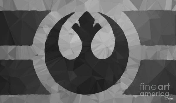 Star Wars Poster featuring the digital art Alliance Phoenix by HELGE Art Gallery