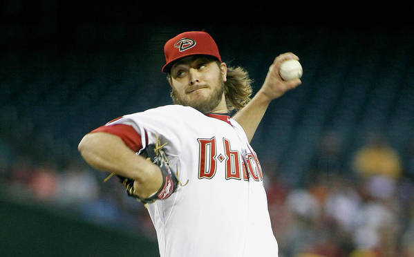 American League Baseball Poster featuring the photograph Wade Miley by Ralph Freso