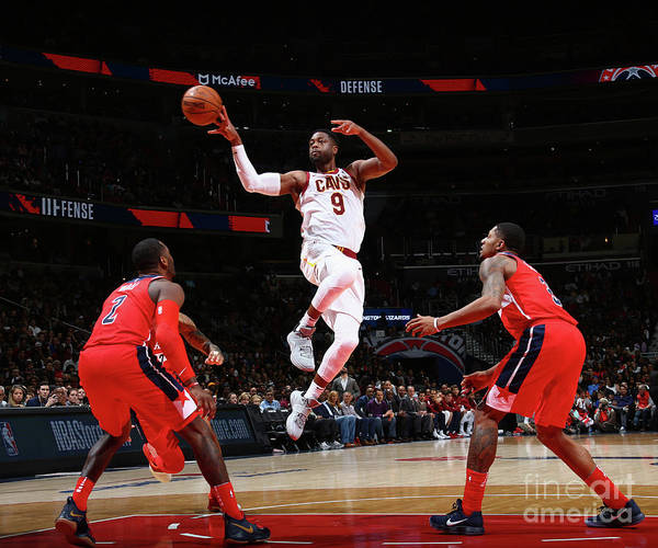 Nba Pro Basketball Poster featuring the photograph Dwyane Wade by Ned Dishman