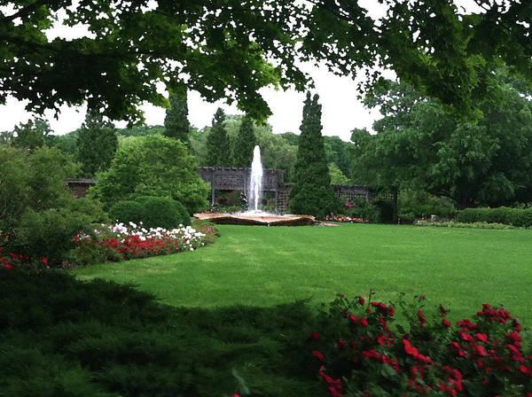 Landscape Poster featuring the photograph Chicago Botanical Gardens Landscape by Steve Karol