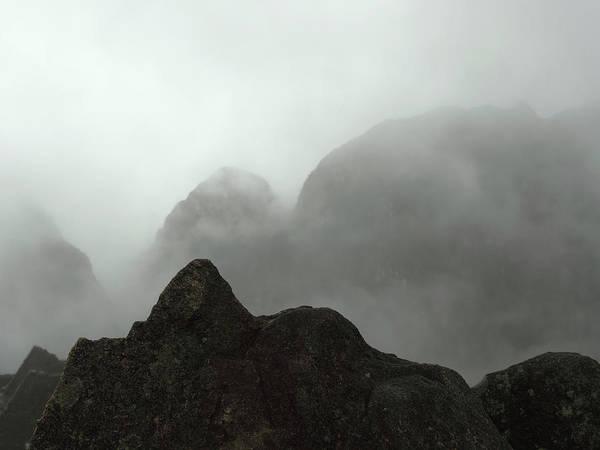 Landscape Poster featuring the photograph Dawn At Macchu Picchu by Chris Honeyman