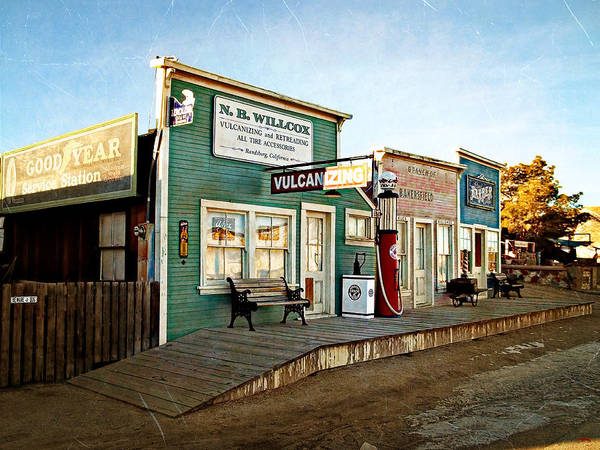 Randsburg Poster featuring the photograph Early Morning In Randsburg by Glenn McCarthy Art and Photography