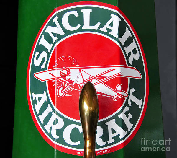 Fine Art Photography Poster featuring the photograph Sinclair Aircraft Pump by David Lee Thompson