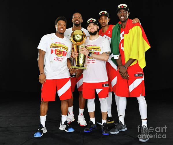 Playoffs Poster featuring the photograph 2019 Nba Finals Portraits by Jesse D. Garrabrant