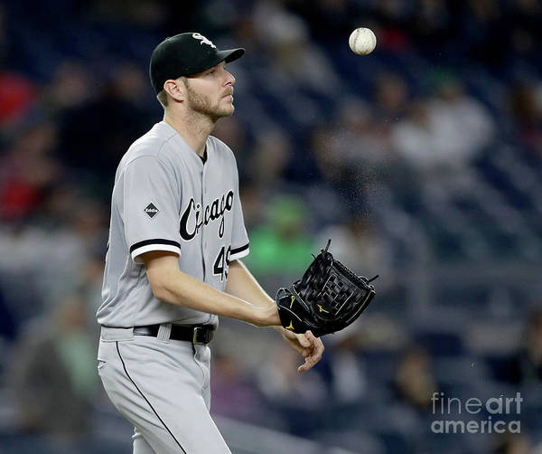 Three Quarter Length Poster featuring the photograph Chris Sale by Elsa