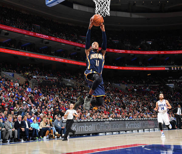 Nba Pro Basketball Poster featuring the photograph Monta Ellis by Jesse D. Garrabrant