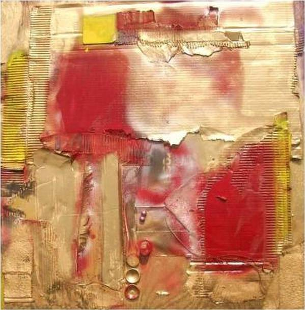 Mixed Media Poster featuring the mixed media ...............................assemblage by Wiola Anyz