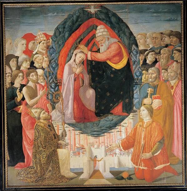 Coronation Poster featuring the photograph Baldassarre Di Biagio Del Firenze by Everett