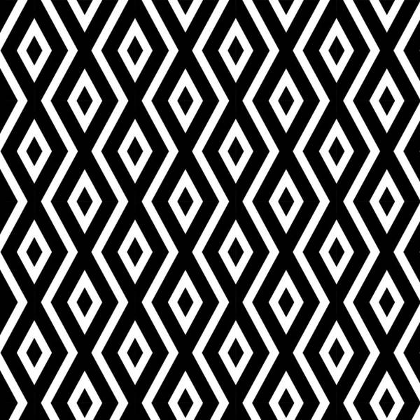 Black And White Poster featuring the mixed media Black and White Pattern by Christina Rollo