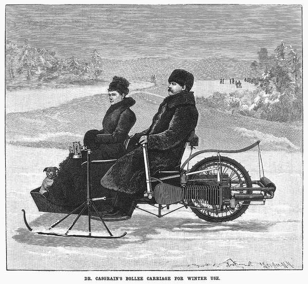 1898 Poster featuring the painting Bollee Carriage, 1898 by Granger