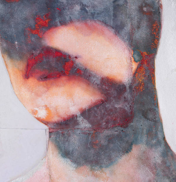 Lip Poster featuring the painting Bound by Graham Dean