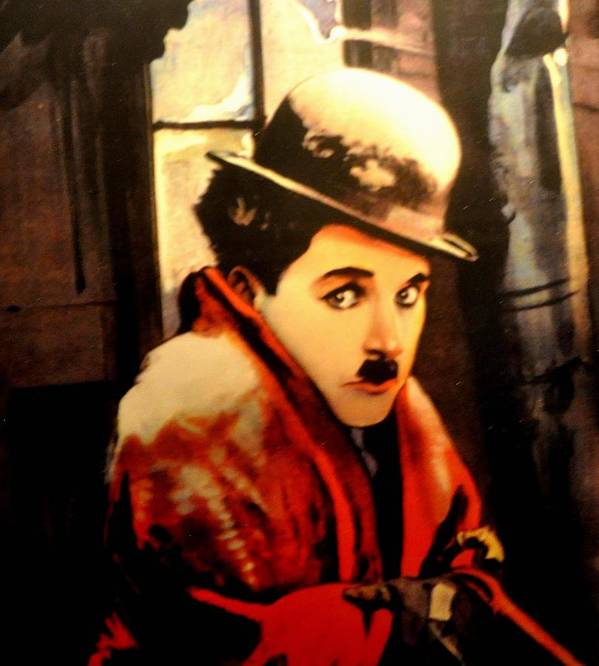 Charlie Poster featuring the photograph Charlie Chaplin by Jay Milo