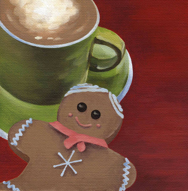 Christmas Poster featuring the painting Christmas Morning by Natasha Denger