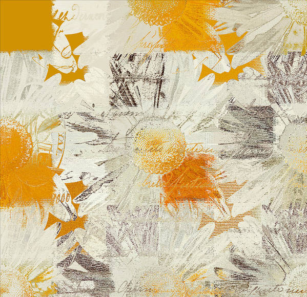 Daisies Poster featuring the digital art Daising - 115115091 - 01 by Variance Collections