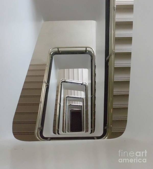 Stairs Poster featuring the photograph Down by James Dolan