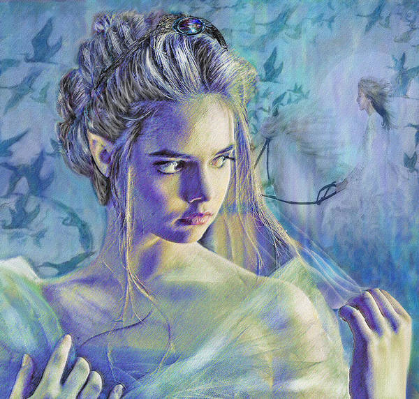 Fantasy Poster featuring the digital art Fairy Queen by Jane Schnetlage