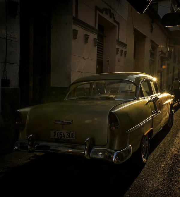 Cars Poster featuring the photograph Goldfinger by Pamela Steege