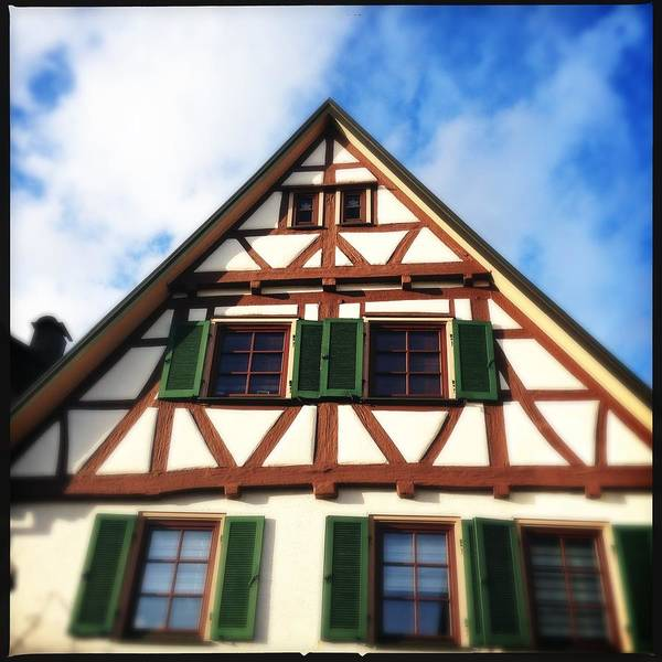 Half-timbered Poster featuring the photograph Half-timbered house 02 by Matthias Hauser