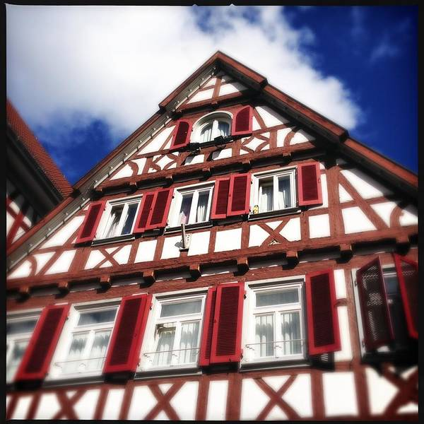 Half-timbered Poster featuring the photograph Half-timbered house 09 by Matthias Hauser