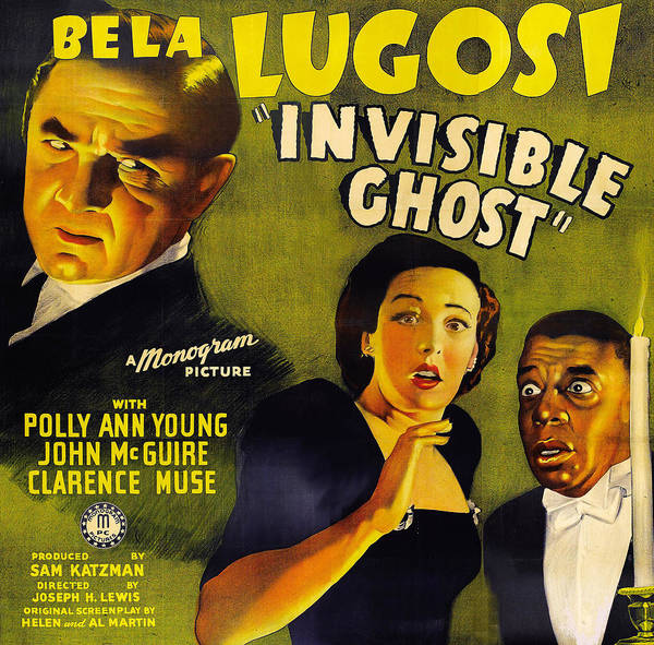 Invisible Ghost Poster featuring the digital art Invisible Ghost by Monogram Pictures