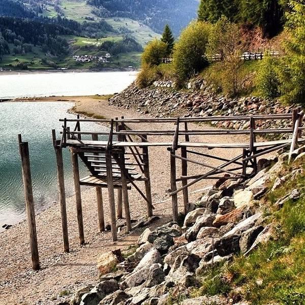 Alps Poster featuring the photograph Lago Di #resia #altoadige by Luisa Azzolini
