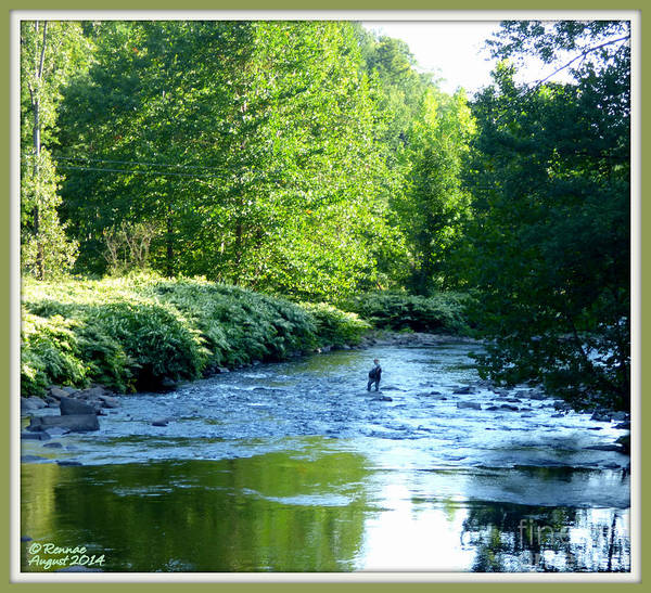 Landscape Poster featuring the photograph My Fishing Place by Rennae Christman
