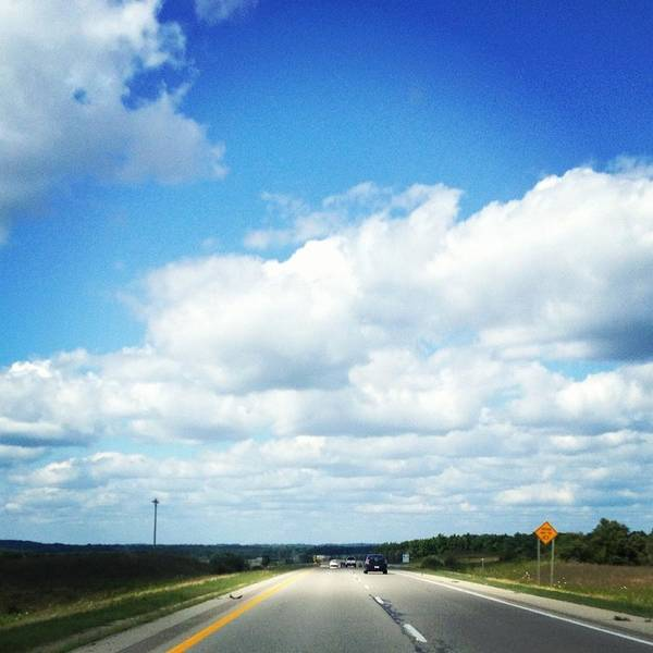Landscape Poster featuring the photograph Open Road by Christy Beckwith