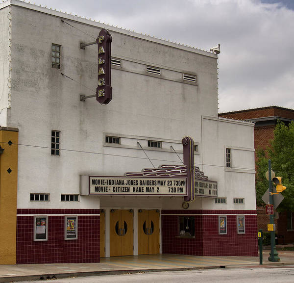 Palace Movie Theater Poster featuring the photograph Palace Movie Theater by Debby Richards