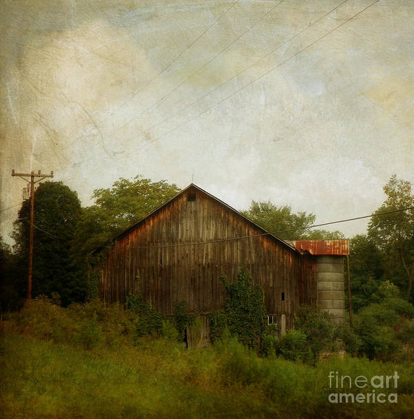Barn Poster featuring the photograph Progress by Nichole Beltz