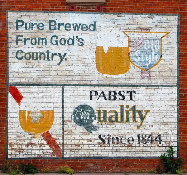 Beer Poster featuring the Pure Brewed by Jame Hayes