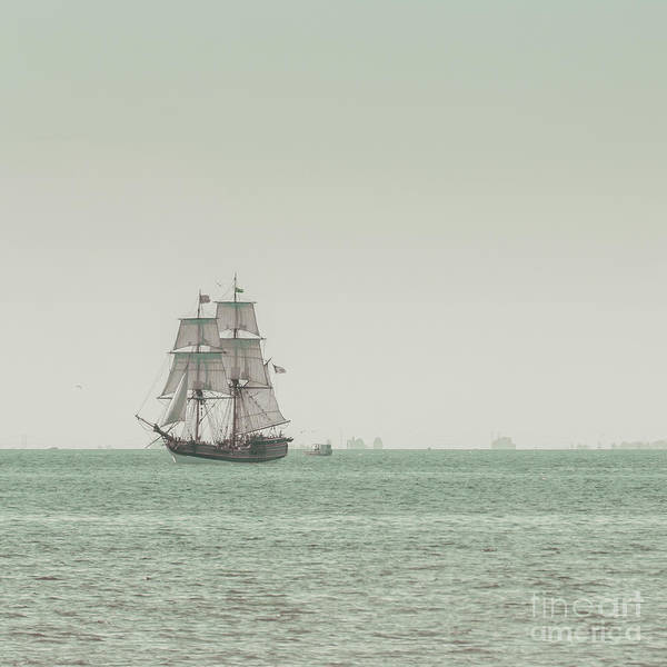 Art Poster featuring the photograph Sail Ship 1 by Lucid Mood