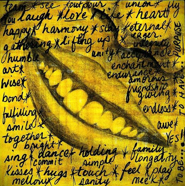 Beautiful Poster featuring the photograph Simply Smile and your golden virtues will be written all over you by Artist RiA