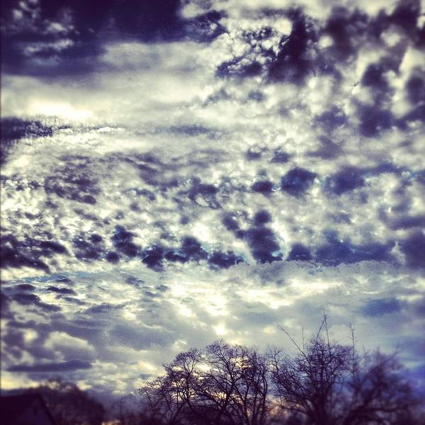 Clouds Poster featuring the photograph Sky by Christy Beckwith