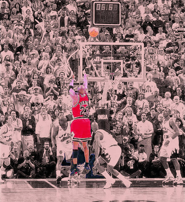 Professional Basketball Player Poster featuring the photograph Standing Out From The Rest Of The Crowd by Brian Reaves