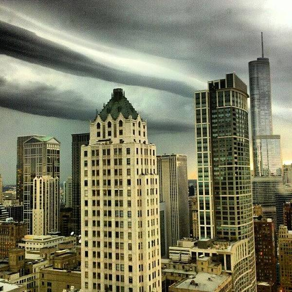 Poster featuring the photograph Storm Front by Jill Tuinier