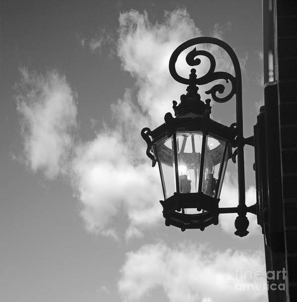 Street Lamp Poster featuring the photograph Street Lamp by Tony Cordoza