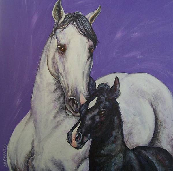 Horse Poster featuring the painting The Little Prince by Beth Clark-McDonal