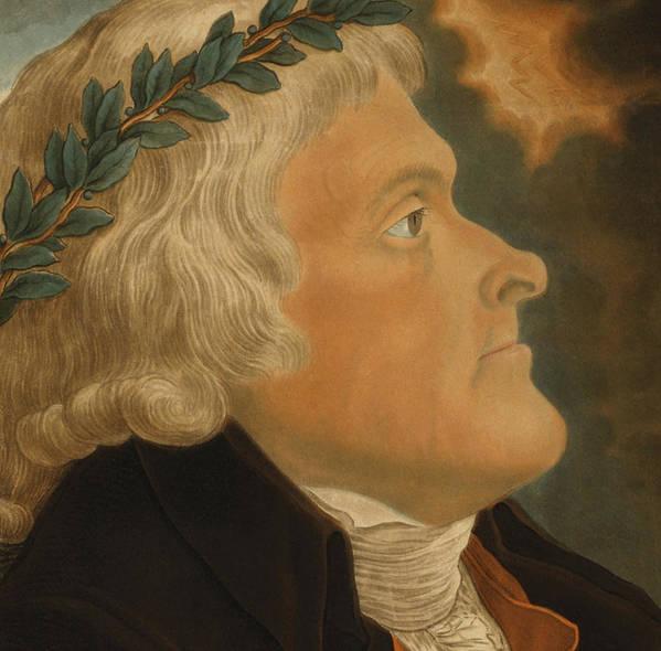 Thomas Jefferson Poster featuring the painting Thomas Jefferson by Michael Sokolnicki