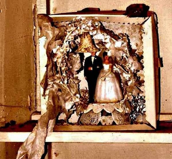 Don Poster featuring the photograph Wedding Bell Blues by Lynne and Don Wright