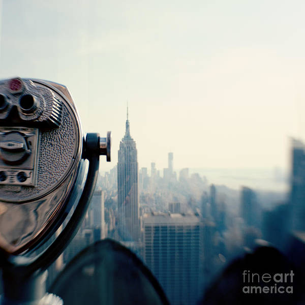 Nyc Poster featuring the photograph Empire State Building NYC by Kim Fearheiley