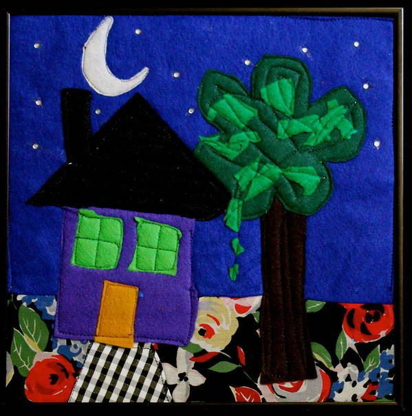 Fabric Poster featuring the tapestry - textile Home by Ghazel Rashid