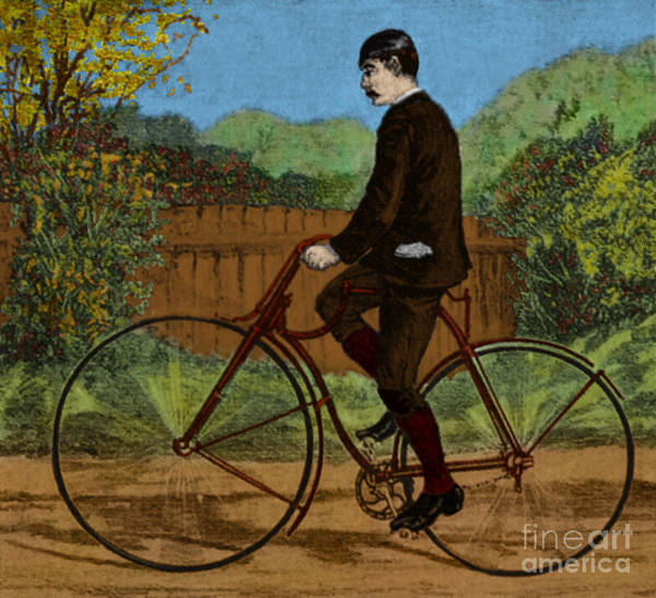 Rover Bicycle Poster featuring the photograph The Rover Bicycle by Science Source