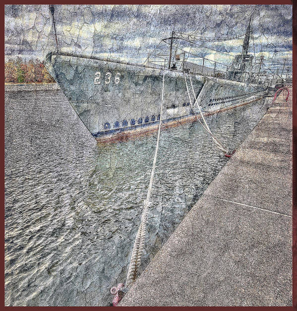 Ship Poster featuring the photograph U.s. Silversides by Cheryl Butler
