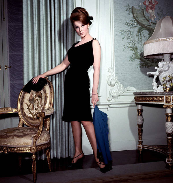 1960s Fashion Poster featuring the photograph Ann-margret, In French Drawing Room by Everett