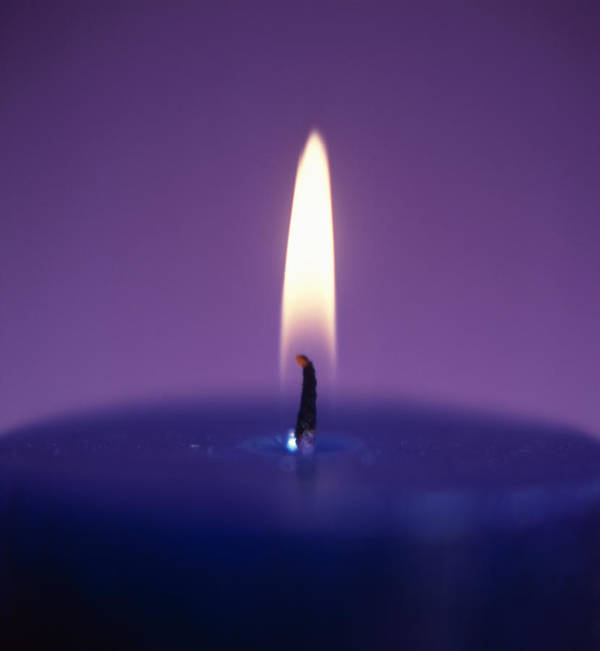 Candle Poster featuring the photograph Candle Flame by Cristina Pedrazzini