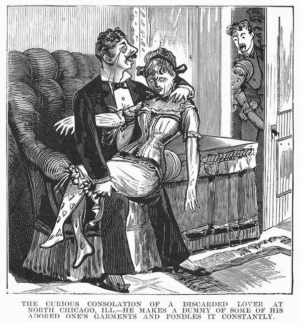 1890s Poster featuring the photograph Discarded Lover, 1890s by Granger
