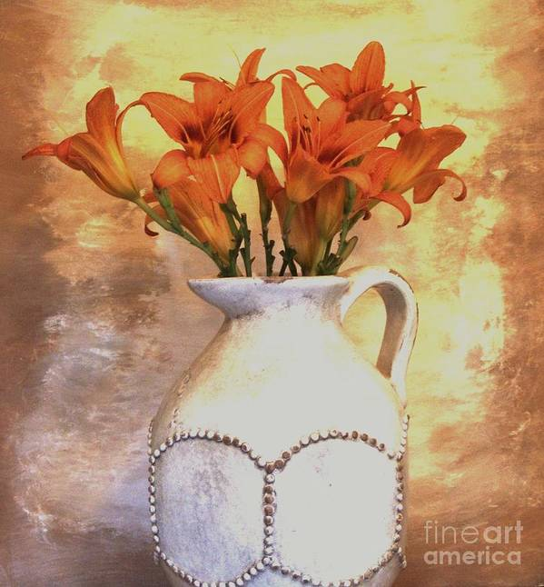 Photo Poster featuring the photograph Fall Flowers For You by Marsha Heiken
