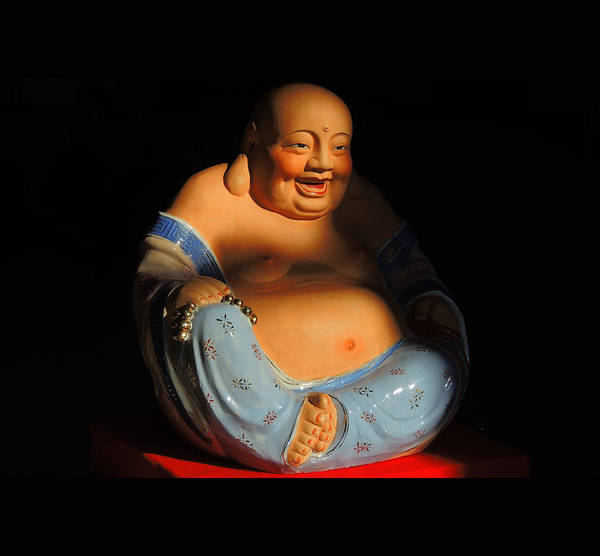 Buddhas Poster featuring the photograph Little Buddha - 7 by Larry Mulvehill